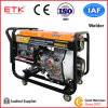 Diesel Welder Generator with 10HP Diesel Engine (White Fan Case)
