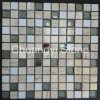 Glass Mix Marble Stone Mosaic Tile for Home Decoration