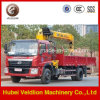 Foton 4X2 6.3 Ton Truck Mounted Crane on Sale