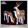 Indoor 3D Acrylic Big Outdoor Christmas Twinkle Reindeer Decoration Light