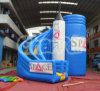 Inflatable Space Slide Rocket Twist Slide (CHSL580)