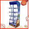 Metal Retail Gridwall Display Racks Floor Display Stand for Store