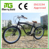LCD Display Ebike Beach Cruiser Electric Bike 36V 250W for Men