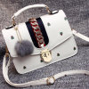 New Style Ladies Handbag Fashion Design Shoulder Bags with Fur Ball Accessories Sy8057