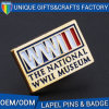 Best Selling Metal Logo Brooch with Enamel or Print Craft