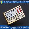 Best Selling Metal Logo Brooch with Enamel or Print Craft