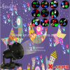 2017 Cheap 12slides Holiday Motif LED Projector, Christmas Laser Light Projector Snowflake