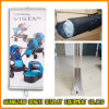 Aluminum Advertising Display Rack Double Sides Roll up Banner Stand