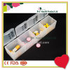Plastic 4 Compartments One Day Clear Plastic Strip Pill Box