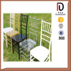 Stacking Wedding Used White Chiavari Chairs (BR-C127)