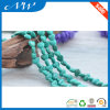 Dull Polished Fashion Heart Shape Turquoise Beads
