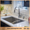 Beautiful Kitchen Design Pure White Kitchen Sinks Quartz Tile Countertop
