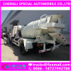 Low Price 4000liters 4X2 Rhd Cement Mixing Machine