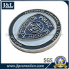 Customer Design Die Struck Copper Metal Coin with Soft Enamel