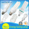 Hot Sale Wholesale 2u/3u/4u Energy Saving Light Bulb / T3/T4/T5 Full Half Spiral Tube LED CFL Lighting / Lotus Energy Saving Lamp