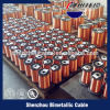 38 AWG, 155 Degree, Red Color Enamel Copper Magnet Wire