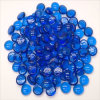 Blue Glass Marble Fire Pit Pebbles