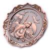 Custom Souvenir Metal OEM Round Shape Magnet Plate (BK53267)
