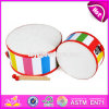 New Products Educational Toys Wooden Toddler Drum Set W07j039