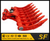 Construction Machinery Parts Mini Excavator Bucket Excavator Tilt Root Rake