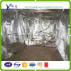Aluminum Foil Woven Fabric Insulated Thermal Blanket Keeping Coffee Fresh