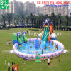 Mobile Water Amusement Park, Inflatable Octopus Water Slide Pool Park