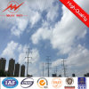 Electric Power 33kv Transmission Line Steel Lattice Tower Design
