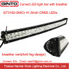 Curved 240W 41.5inch CREE Offroad LED Light Bar (GT3102-240Cr)