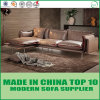 Modern Multi-Purpose Leather and Fabric Sectional Sofa