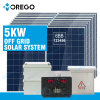 Morego Solar System off Grid 5kw with 6bb High Efficiency Solar Panels