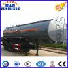 3-Axle 33000L Carbon Steel Tank/Tanker Truck Tractor Semi Trailer for-Corrosive-Liquid