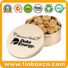 Round Tin Box Food Packaging for Snack Chocolate Biscuit Cookies