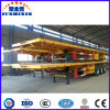 Platform Type Container Carrier Flatbed Trailer