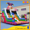 Outdoor Lawn Customize Happy Clown Fun Inflatable Slide for Kids Party (AQ01396)