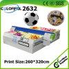 Solvent Flatbed Inkjet Digital PVC/PU Football Soccer Printer