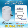 Gu24 Push-Thru Switch Lampholder, Gu24 High Efficient Lampholder; Q-29A