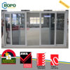 PVC Plastic Double Glazed Large Sliding Glass Doors