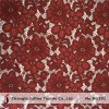 Wine Color Heavy Floral Lace Fabric (M1391)