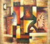 Handmade Canvas Famous Abstract Oil Painting (LH-313000)