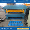 Metal Roof Corrugated Sheet Double Layer Machine