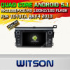 Witson Android 5.1 Car DVD GPS for Toyota RAV4 2013 with Chipset 1080P 16g ROM WiFi 3G Internet DVR Support (A5746)