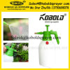 1L1.5L 2L Garden HDPE Spray Bottle Pressure Sprayer with Safety Valve
