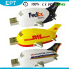 Plastic DHL Airplane Shape USB Flash Drive for Sale (EP080)