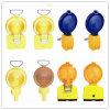Solar Warning Flashing Traffic Signal Light for Road Safety