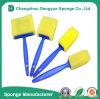 Healthy Safe Kids Plastic Handle Artist Brush Paint Sponge Brushes