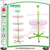 4 Tier Ajustable Floor Standing Wire Basket Spinner