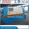 QC11Y-12X2500 hydraulic type guillotine shearing cutting machine