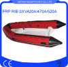 Sxv420A/470A/520A Rib Hypalon Inflatable Boat with Fiberglass Hull