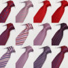 Wholesale Custom Mens Woven Jacquard Skinny Necktie (A784)