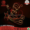 LED Rope Light Santa Claus with Star Christmas Light for Holiday Lighting Decoration